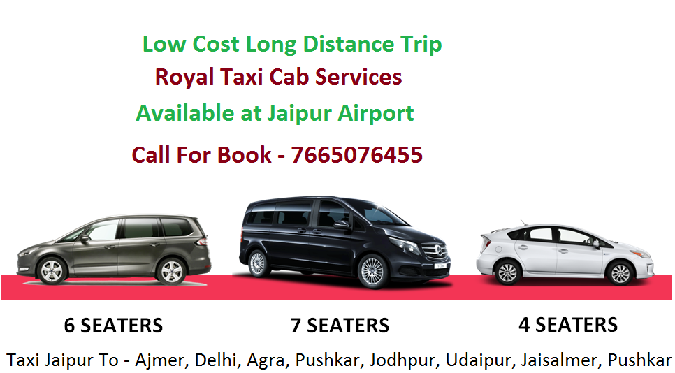 Car Taxi On Rent – Royal Taxi Cabs Available for Anywhere from Jaipur Airport