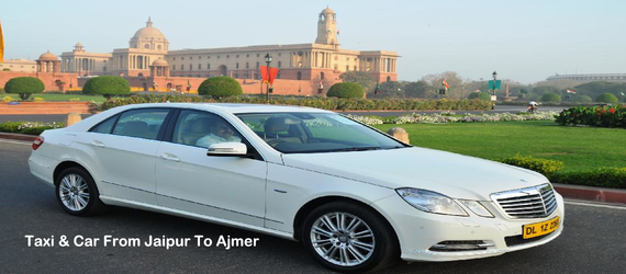 Taxi Jaipur To Ajmer