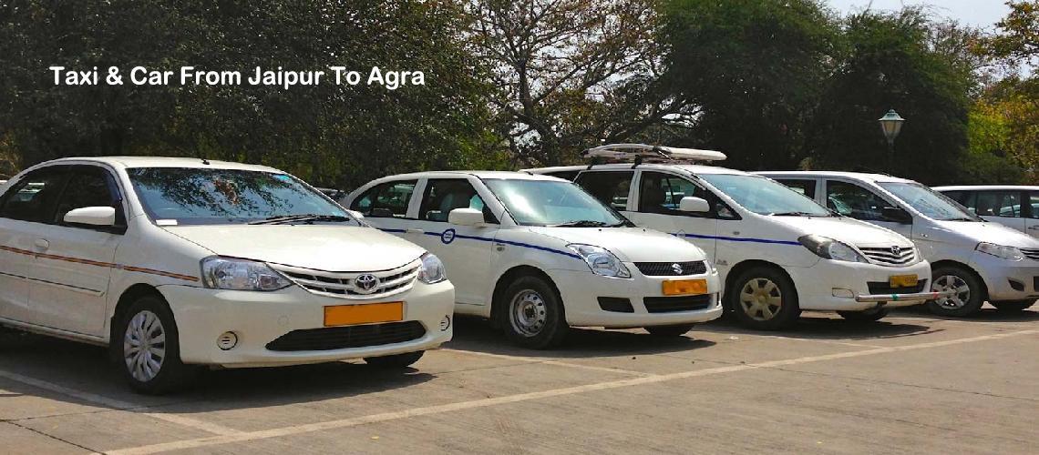 Taxi Jaipur To Agra